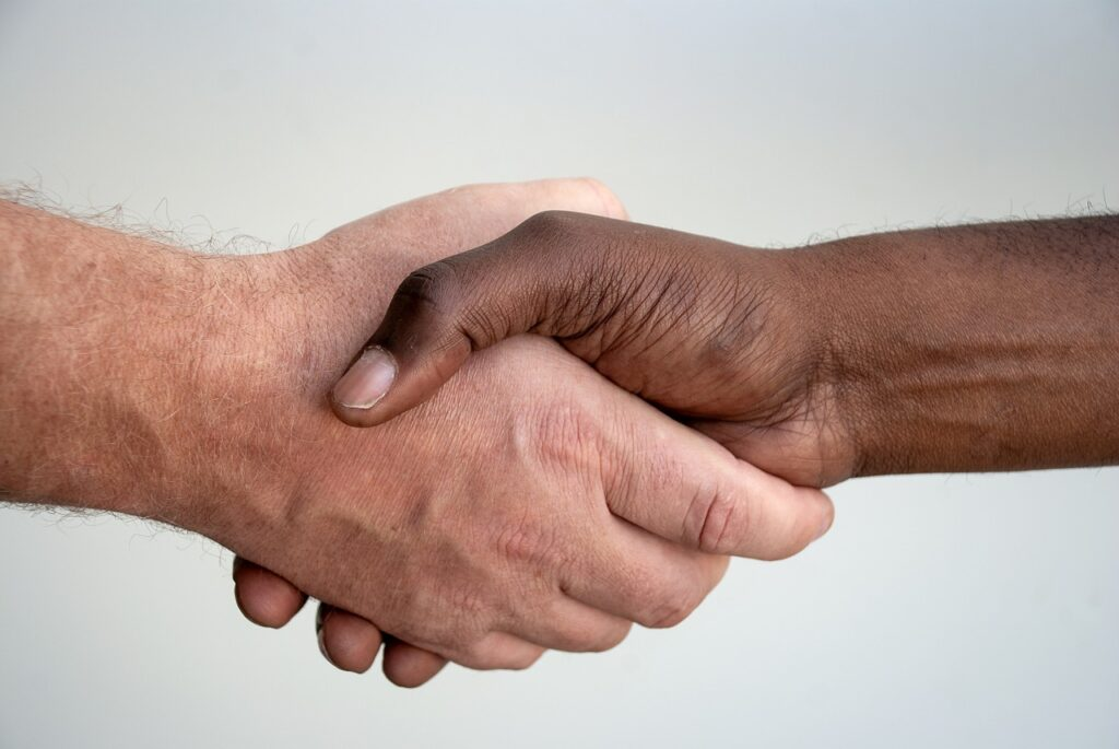 hands, handshake, people